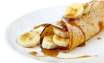 Recette Crêpes aux bananes