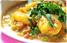 Recette Curry de crevettes