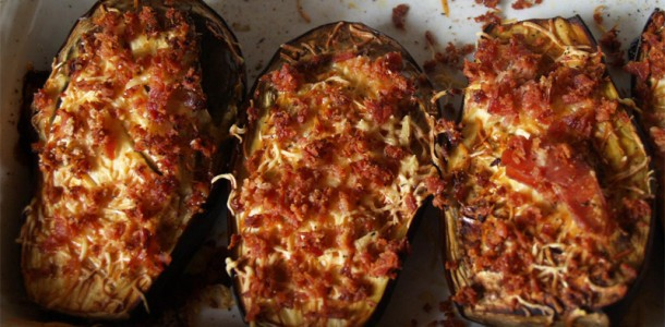 Recette aubergines grill es au four - Langoustes grillees au four ...