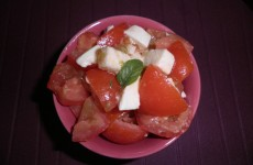 Recette Salade tomates mozzarella